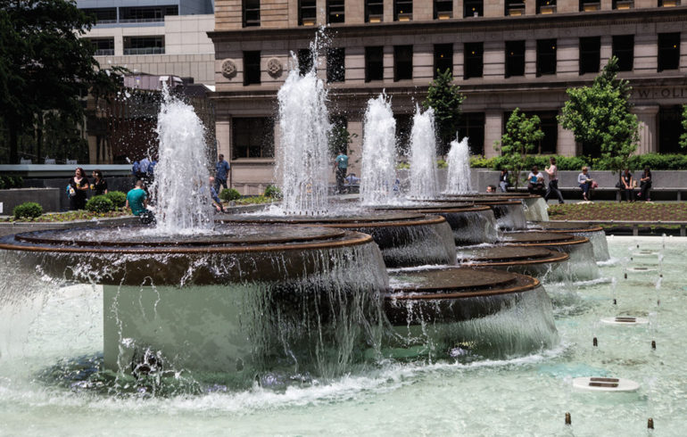 Mellon Square Fountain