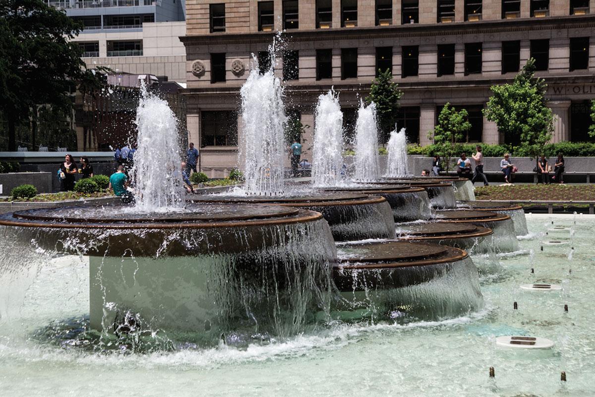 Mellon Square Fountain